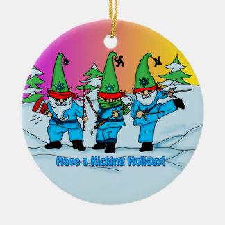 Martial Arts Ornament Ninja Elves