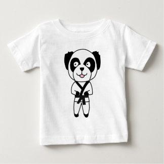 Martial Arts Panda Bear Baby T-Shirt