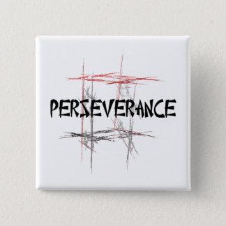 Martial Arts Perseverance 2 Inch Square Button