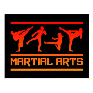 Martial Arts postcard - customize!
