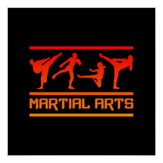 Martial Arts poster - customize!