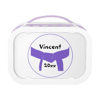 Martial Arts Purple Belt Lunch Box
