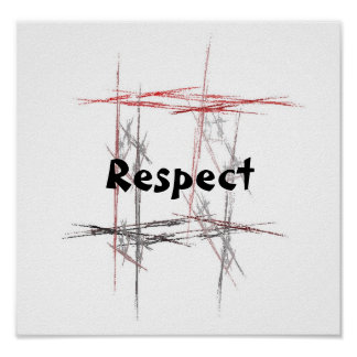 Martial Arts Respect Poster