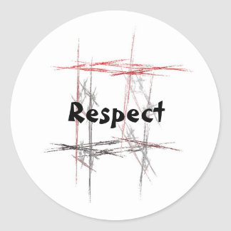 Martial Arts Respect Stickers