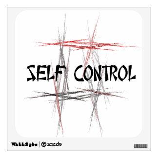 Martial Arts Self Control Wall Decal