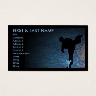 martial arts shadowstance business card