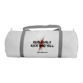 Martial Arts Tae Kwon Do Real Girls Kick Gym Bag