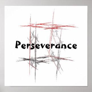 Martial Arts Taekwondo Tenets Perseverance Poster