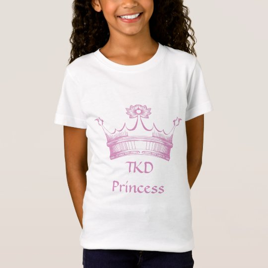 Martial Arts TKD Princess T-Shirt