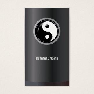 Martial Arts Yin Yang Professional Business Card