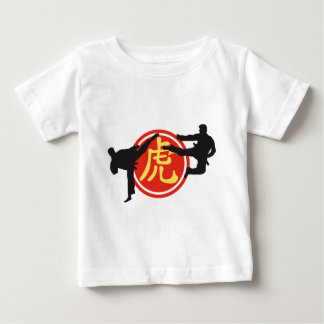 martially kind and Chinese sign Baby T-Shirt