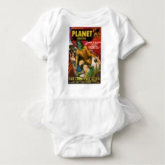Martian and Earth Girl Baby Bodysuit