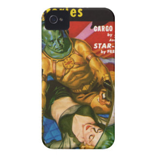 Martian and Earth Girl iPhone 4 Cover