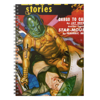 Martian and Earth Girl Notebook