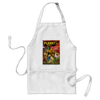Martian and Earth Girl Standard Apron