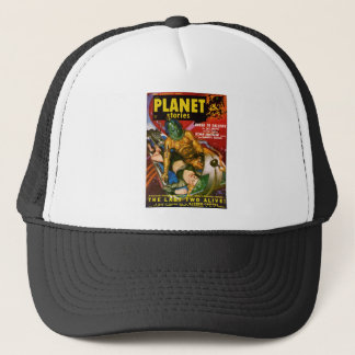Martian and Earth Girl Trucker Hat