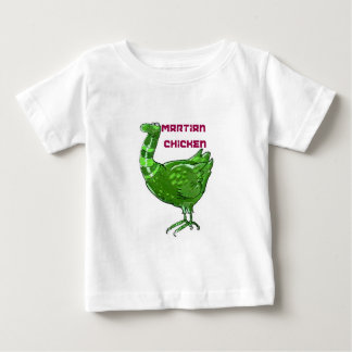 martian chicken cartoon style funny illustration baby T-Shirt
