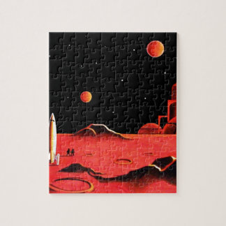 MARTIAN CITY JIGSAW PUZZLE