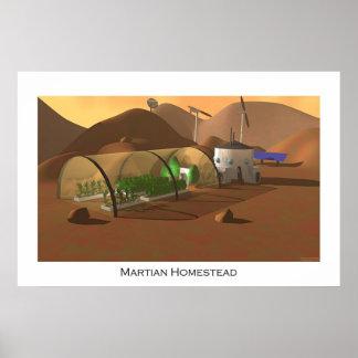 Martian Homestead Poster