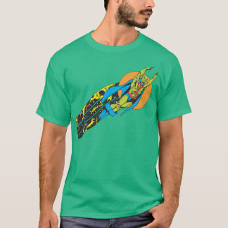 Martian Manhunter Takes Flight T-Shirt