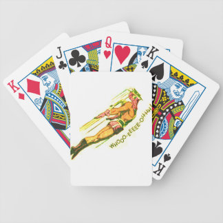 Martian Victory yell Bicycle Playing Cards