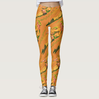 Martian Victory Yell Leggings