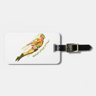 Martian Victory yell Luggage Tag