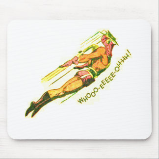 Martian Victory yell Mouse Pad