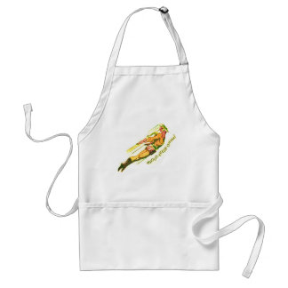 Martian Victory yell Standard Apron