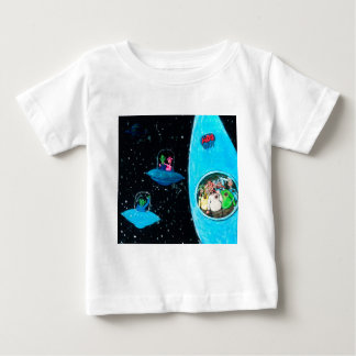 Martians and Cows Baby T-Shirt