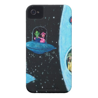 Martians and Cows iPhone 4 Covers