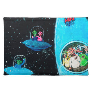 Martians and Cows Placemat