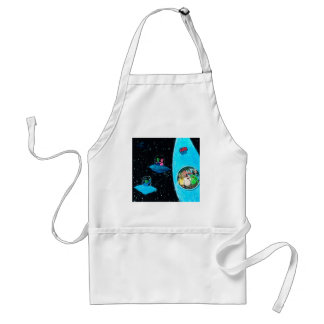 Martians and Cows Standard Apron