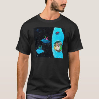 Martians and Cows T-Shirt