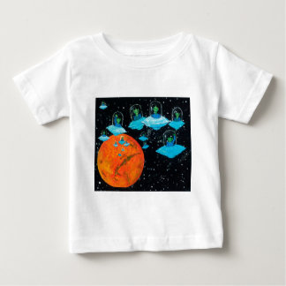 Martians are Angry Baby T-Shirt