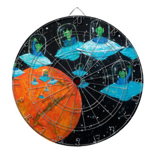 Martians are Angry Dartboard