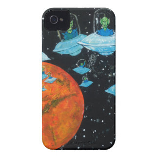 Martians are Angry iPhone 4 Cover