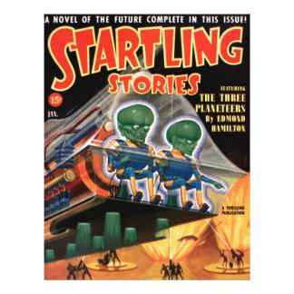 Martians Go For a Ride Letterhead