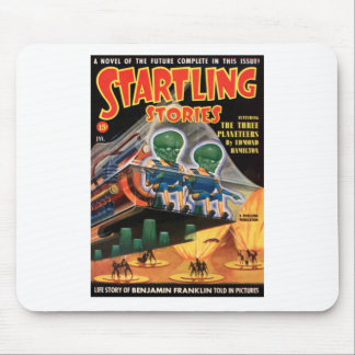 Martians Go For a Ride Mouse Pad