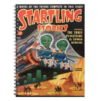 Martians Go For a Ride Notebook