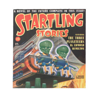 Martians Go For a Ride Notepad