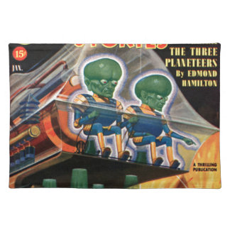 Martians Go For a Ride Placemat