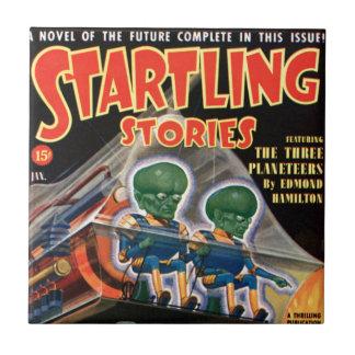 Martians Go For a Ride Tile