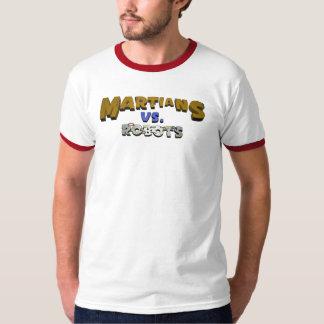 Martians vs Robots T-Shirt