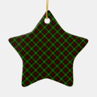 Martin Clan Tartan Scottish Design Ceramic Ornament