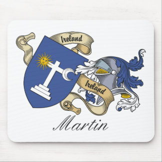 Martin Family Crest Mouse Pad