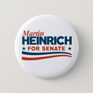 Martin Heinrich for Senate 2 Inch Round Button