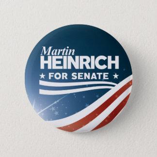 Martin Heinrich for Senate 2 Inch Round Button