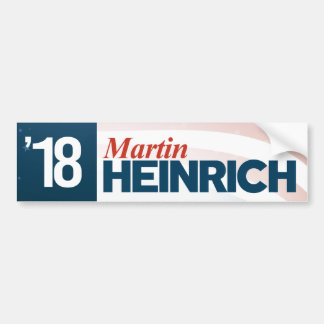 Martin Heinrich for Senate Bumper Sticker