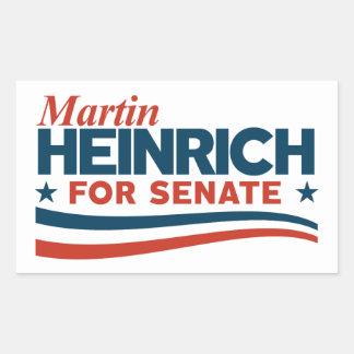 Martin Heinrich for Senate Sticker